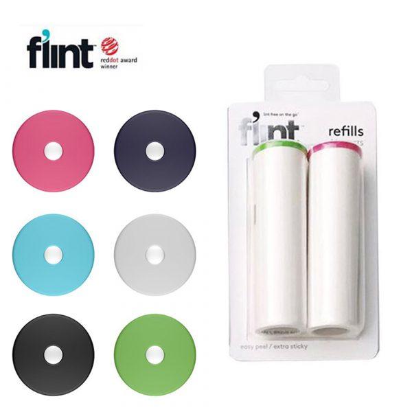 美國 Flint 毛絮滾輪 補充捲紙 (2入)