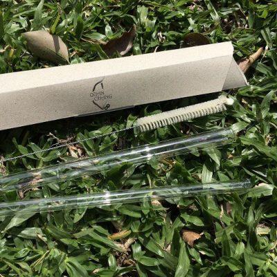 高硼矽耐熱玻璃吸管組合 (細直+粗直+刷)