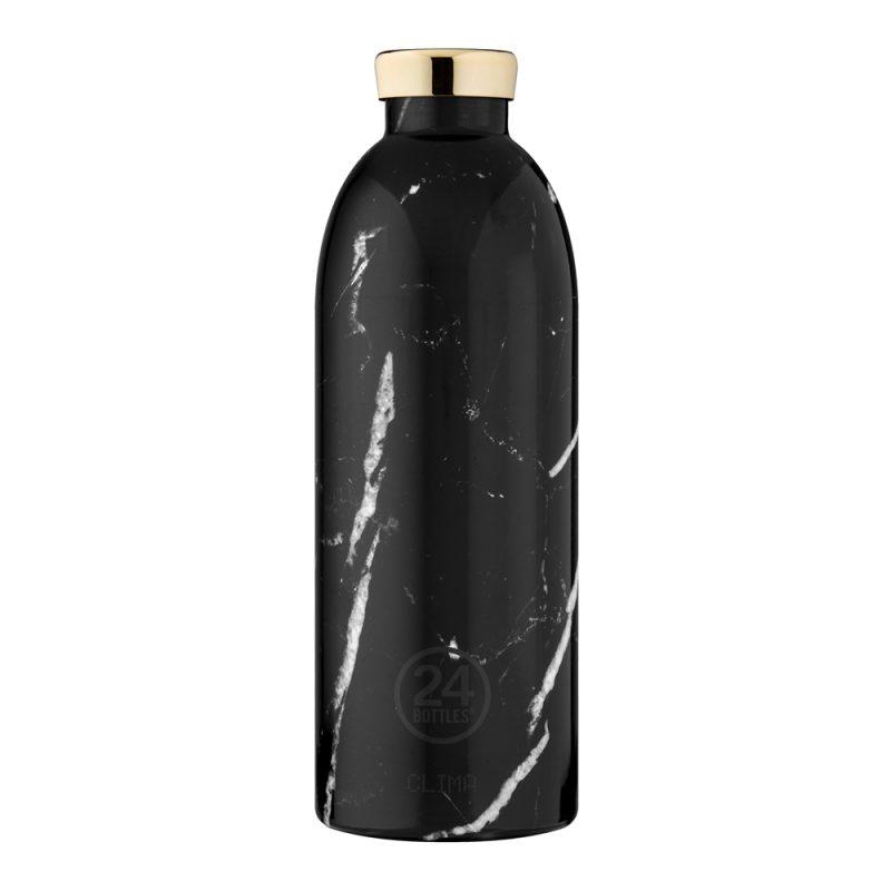 義大利 24Bottles 不鏽鋼雙層保溫瓶 850ml (黑雲石)