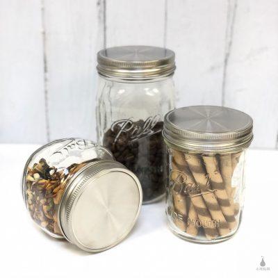 Ball 梅森罐專用 不鏽鋼密封蓋