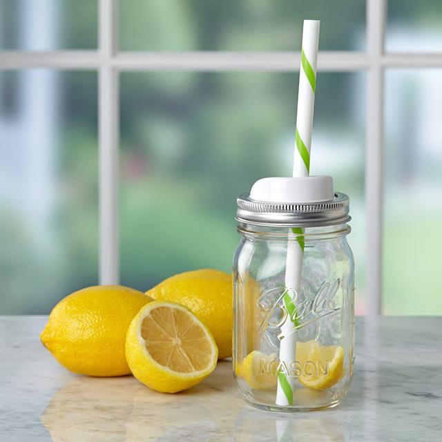 Ball 梅森罐 窄口標準隨行杯蓋組