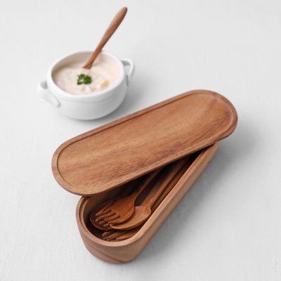 泰國 CHABATREE LIMPID 餐具儲存盒 L 高款