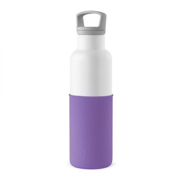 美國 HYDY 時尚不銹鋼保溫水瓶 白瓶 (紫羅蘭)