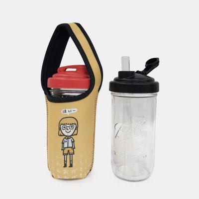 BLR 24oz梅森罐 reCAP 彈跳吸管飲料杯袋組 はい
