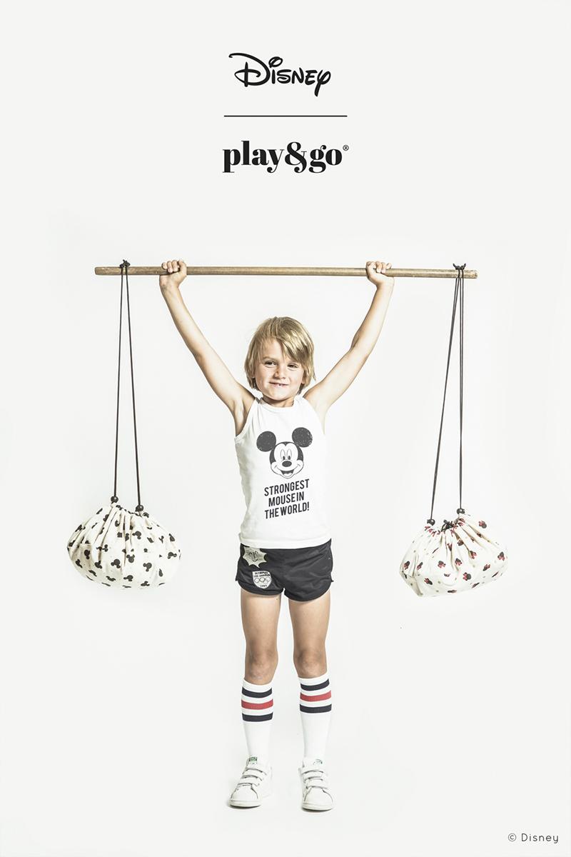 比利時 play & go 玩具整理袋 迪士尼限定聯名款 (迷你米妮)