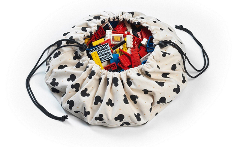 比利時 play & go 玩具整理袋 迪士尼限定聯名款 (迷你米奇)