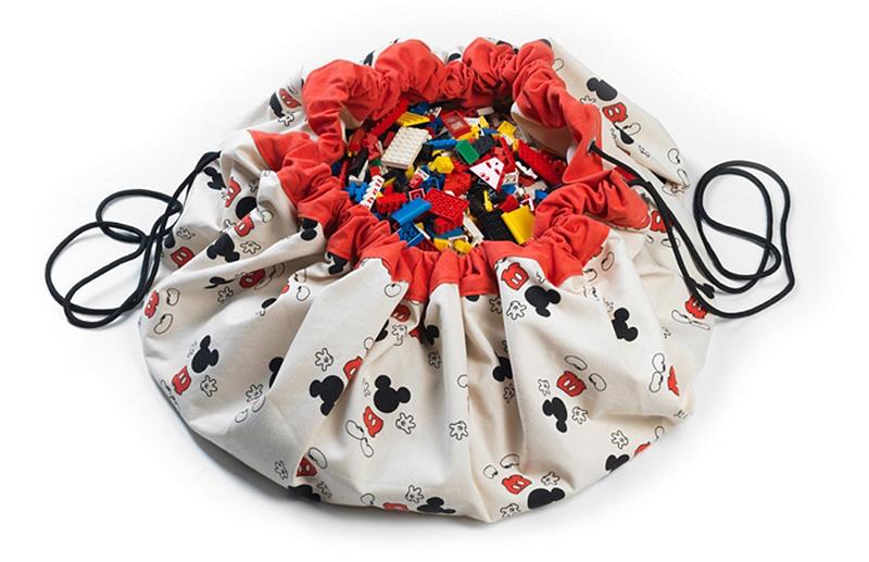 比利時 play & go 玩具整理袋 迪士尼限定聯名款 (跳舞米奇)
