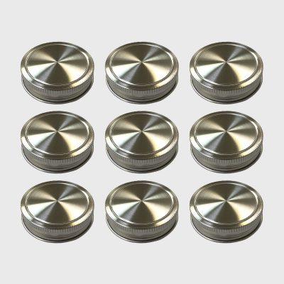 Ball 梅森罐專用 不鏽鋼蓋多入組 (窄口)