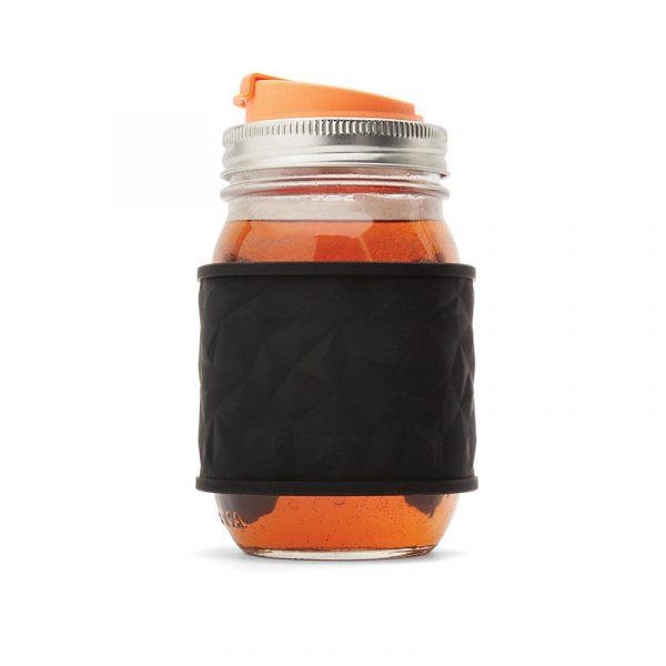 美國 JARWARE 矽膠杯套 2入組 (黑/白)