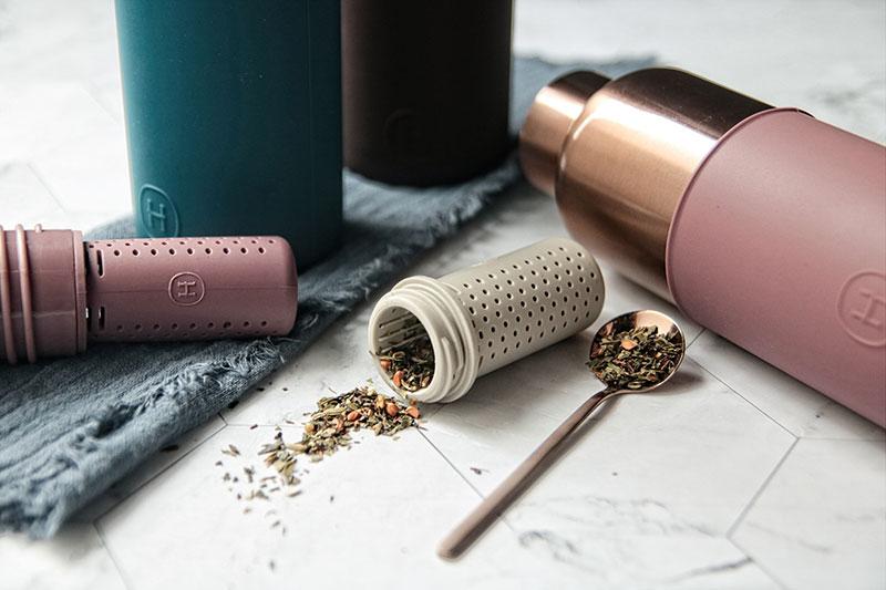 美國 HYDY 時尚保溫水瓶專用茶隔 泡茶器