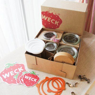 德國 WECK 玻璃密封罐 小家庭好用禮盒組