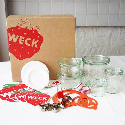德國 WECK 玻璃罐 飲食男女禮盒組