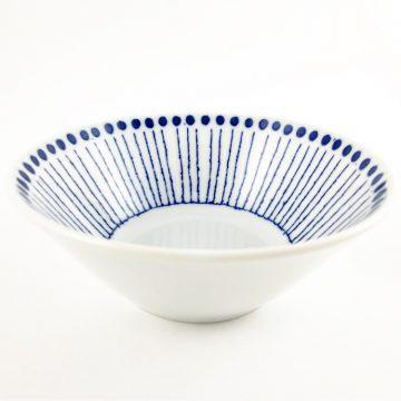 日本 美濃燒 十草 瓷碗