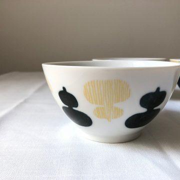 日本 美濃燒 手繪葫蘆 瓷碗