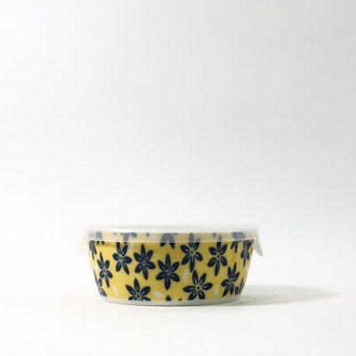 750_美濃燒保鮮瓷碗_黃01
