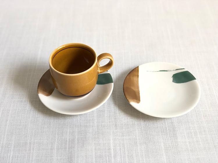 日本 美濃燒 陶作 馬克杯 -焦糖棕1
