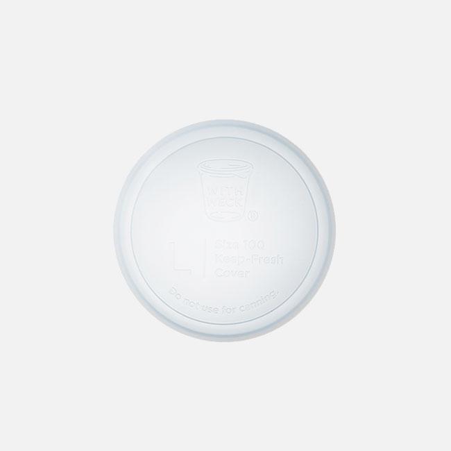 日本 WITH WECK 矽膠蓋 L (透明)