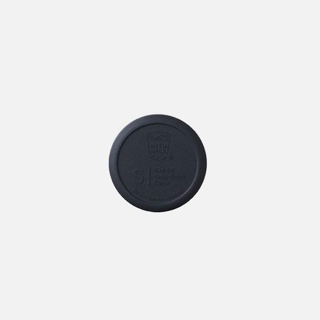 日本 WITH WECK 矽膠蓋 S (黑)