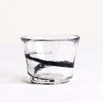 日本 津輕 手工玻璃杯 清酒杯 (夜空) 65ml
