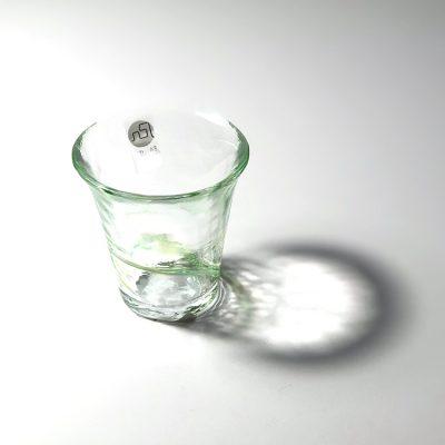 日本 津輕 手工玻璃杯 清酒杯 (夏露) 65ml