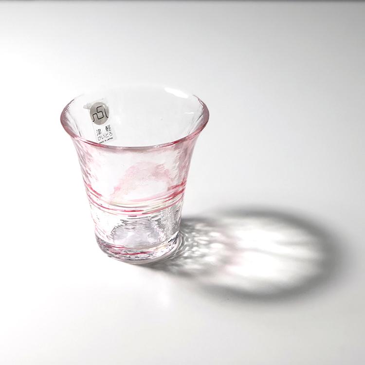 日本 津輕 手工玻璃杯 清酒杯 (波音) 65ml
