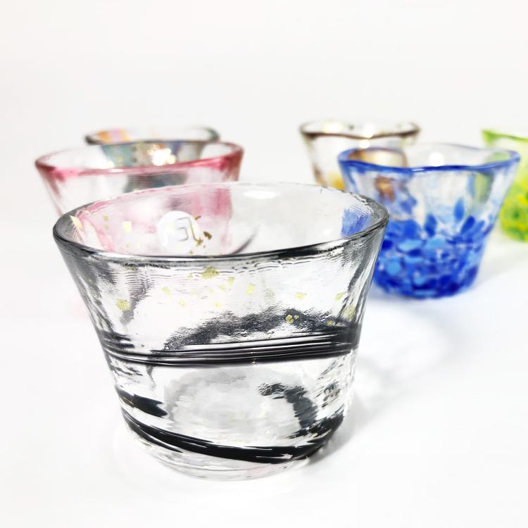 日本 津輕 手工玻璃杯 清酒杯 (夜空) 65ml 1