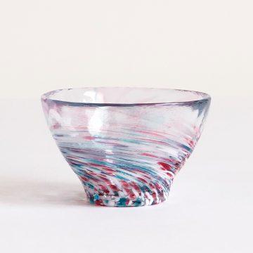 日本 津輕 手工玻璃杯 (晚霞) 85ml