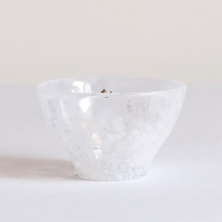 日本 津輕 手工玻璃杯 (朝霧) 85ml