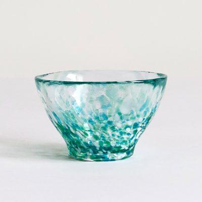 日本 津輕 手工玻璃杯 (青翠) 85ml