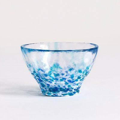 日本 津輕 手工玻璃杯 (紫陽花) 85ml
