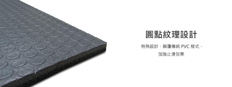 SweatPlay 高密度 PVC 瑜珈墊 1