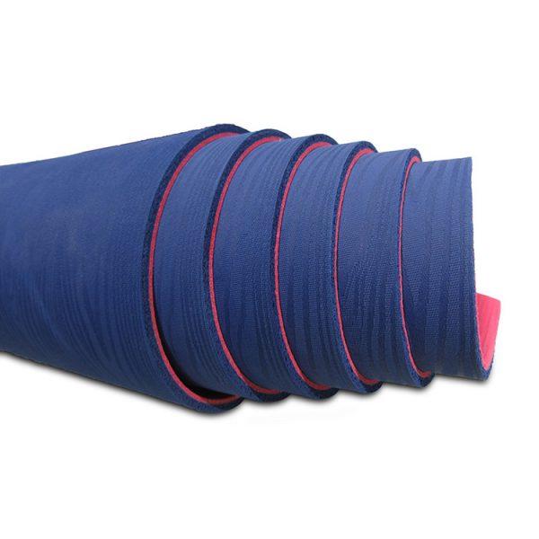 SweatPlay 天然橡膠 瑜珈墊 -深藍桃紅底