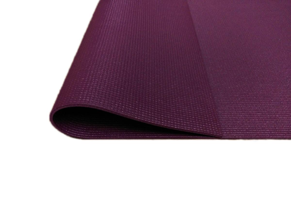 SweatPlay 止滑 PVC 瑜珈墊 漿果色