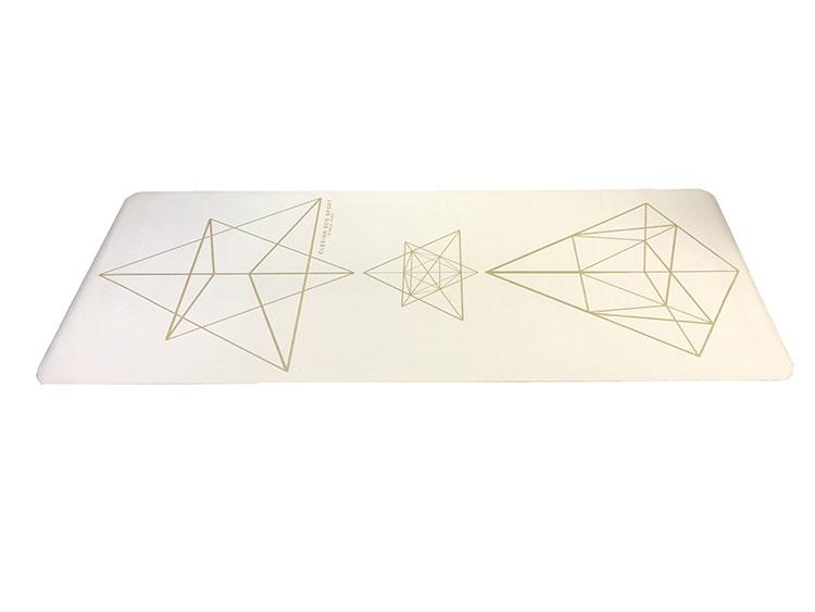 Clesign Pro Yoga Mat 旅行瑜珈墊 1.2mm - STAR WHITE