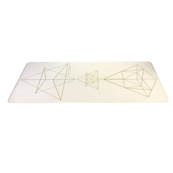 Clesign OSE Yoga Mat 旅行瑜珈墊 1.2mm - STAR WHITE