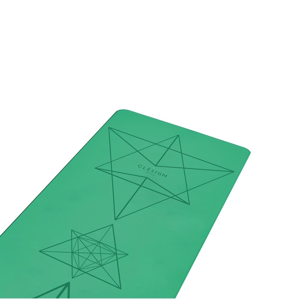 Clesign Pro Yoga Mat 瑜珈墊 4.5mm - Green