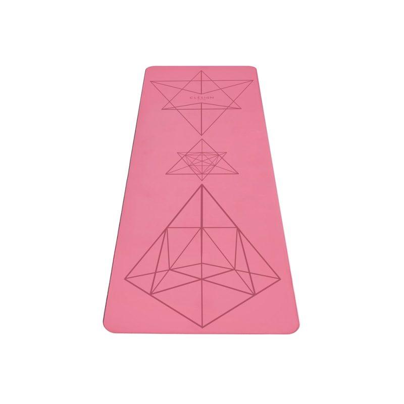 Clesign Pro Yoga Mat 瑜珈墊 4.5mm - Pink