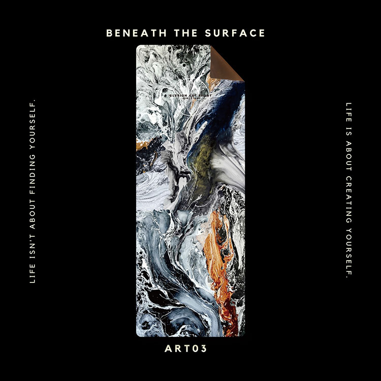 Clesign OSE 瑜珈墊 3mm - ART03 BENEATH THE SURFACE