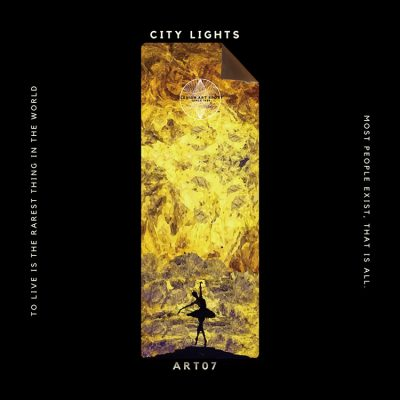 Clesign OSE 瑜珈墊 3mm - ART07 CITY LIGHTS