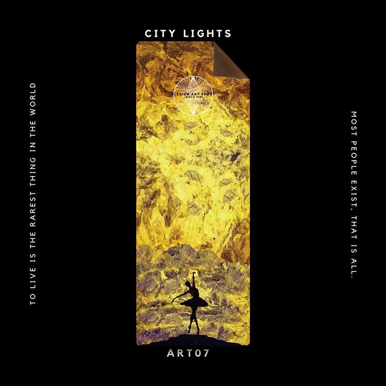 Clesign OSE 瑜珈墊 3mm - ART07 CITY LIGHTS