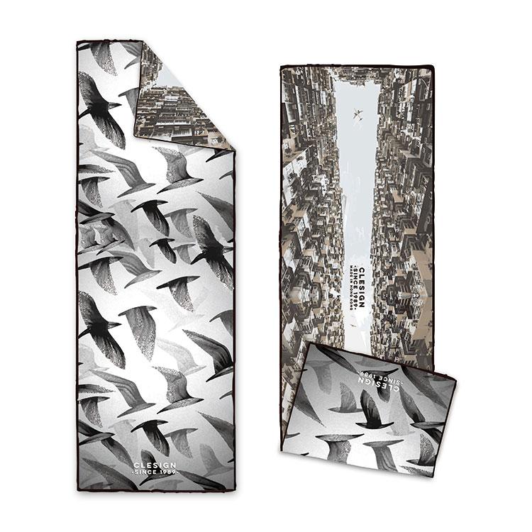 Clesign OSE ECO 瑜珈舖巾 - D10 Free Bird
