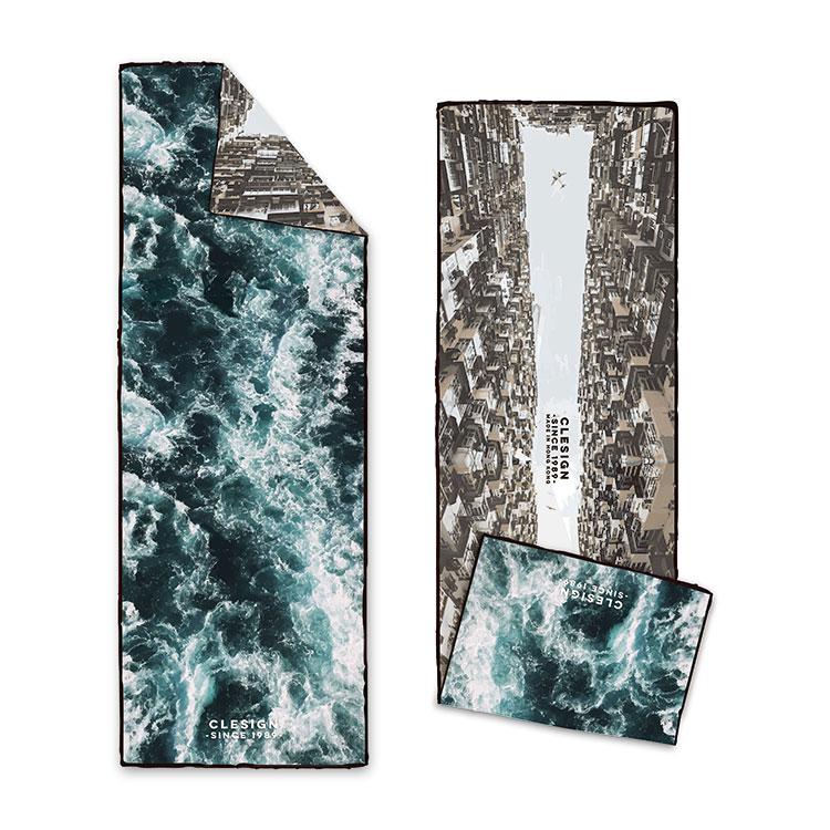 Clesign OSE ECO 瑜珈舖巾 - D12 Blue Sea