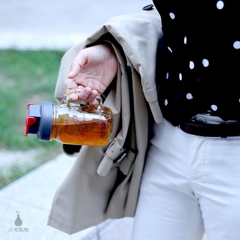 Ball 梅森罐 太空蓋飲料隨行杯 (窄口)
