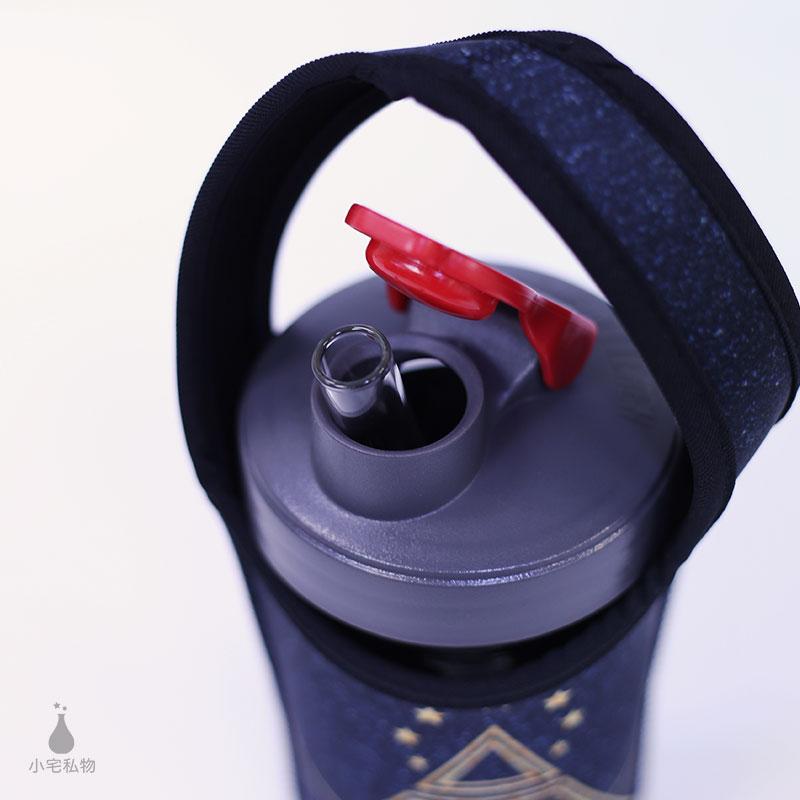 太空蓋 Ball梅森罐 24oz 彈跳吸管飲料杯袋組