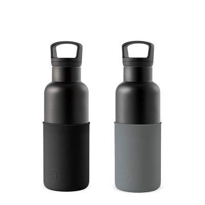 美國 HYDY 時尚不銹鋼保溫水瓶輕巧雙瓶組 輕巧黑瓶2入 (顏色任選)