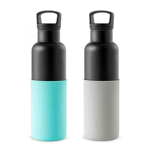 美國 HYDY 時尚不銹鋼保溫水瓶雙瓶組 黑瓶+黑瓶 (顏色任選)