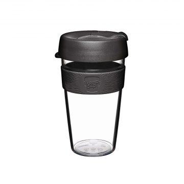 澳洲 KeepCup 隨身咖啡杯 晶透系列 L - 黑色幽默