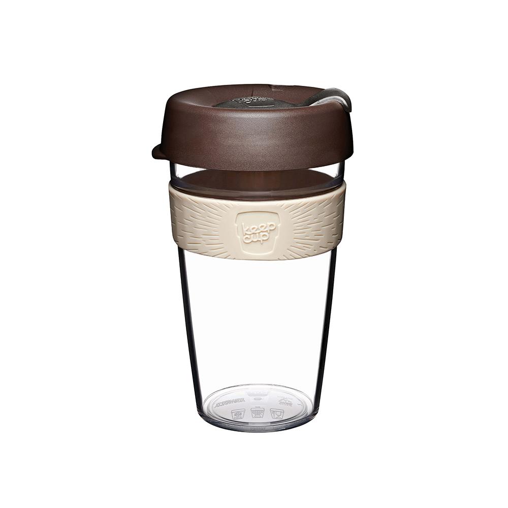 澳洲 KeepCup 隨身咖啡杯 輕漾系列 L - 巧克力摩卡