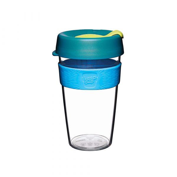 澳洲 KeepCup 隨身咖啡杯 晶透系列 L - 極光