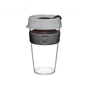 澳洲 KeepCup 隨身咖啡杯 晶透系列 L - 倫敦霧雨